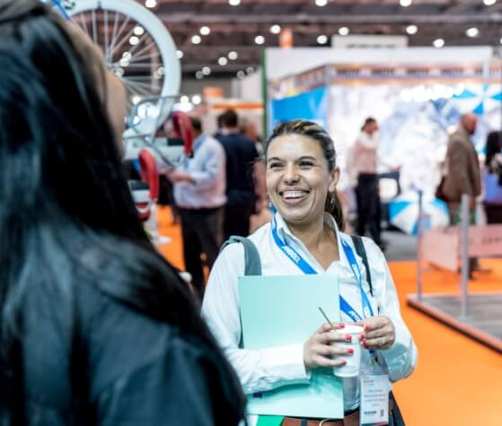 Networking at Facilities Show